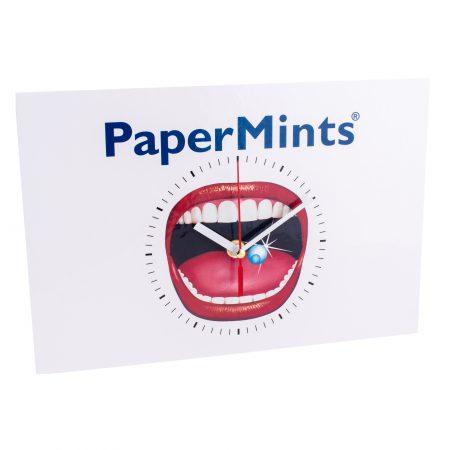 PaperMints clock